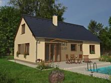 Prodej  projektu na klíč 110 m², pozemek 86 m²