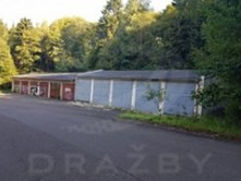 Dražba garáže 210 m²